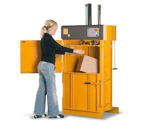 Image of a B3 Cardboard Baler