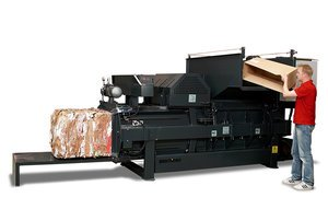 Product image of the CC20 Horizontal Baler