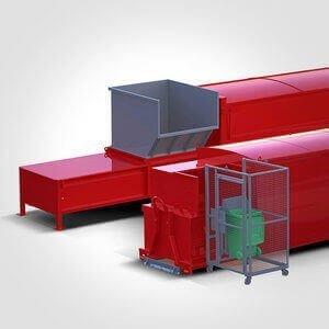 Cardboard, Waste & Garbage Compactors