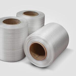 White Baler Strapping Tape